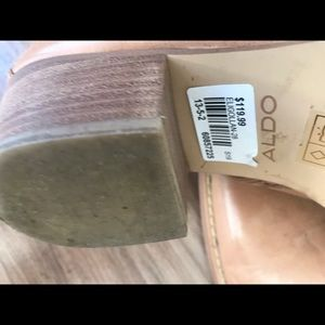 Aldo Shoes - Aldo leather tan western ankle boots 8.5